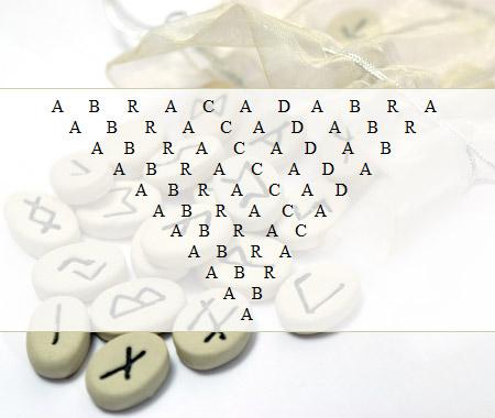 Esoterik-Themenkreis: Das ABRACADABRA-Orakel